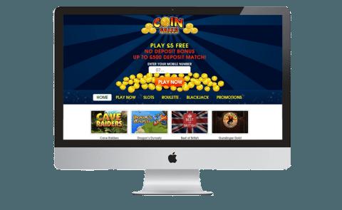 coin falls mobile sms casino