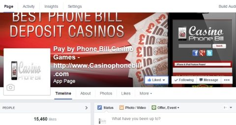 Mobile Casino Pay by Phone Bill fb