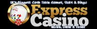 EXPRESS Casino: paragùni di u situ - Games Free cu Pay da Bill Phone - £ 100 d'FREE!