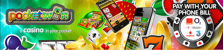 PocketWin Online Casino Bill Telefon