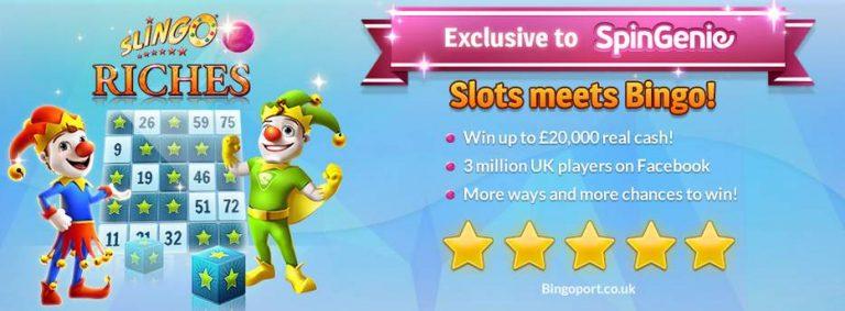 Slingo Riches Spin Genie Free Spins No Depsit-compressed