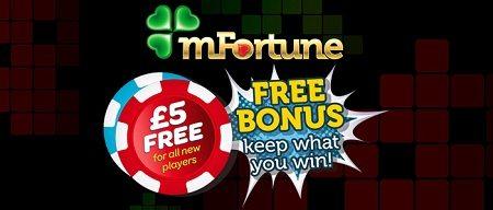 mFortune Free Offers