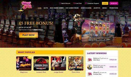 SlotJar Online Casino Free Bonus
