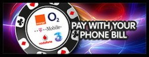 mobile casino phone bill deposit