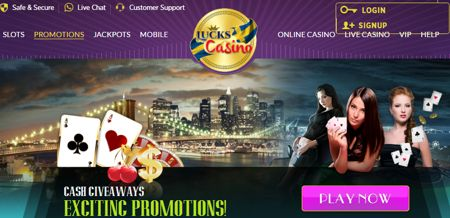 Lucks Casino Jeux