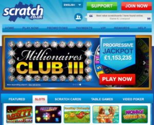 free online scratch off bonus