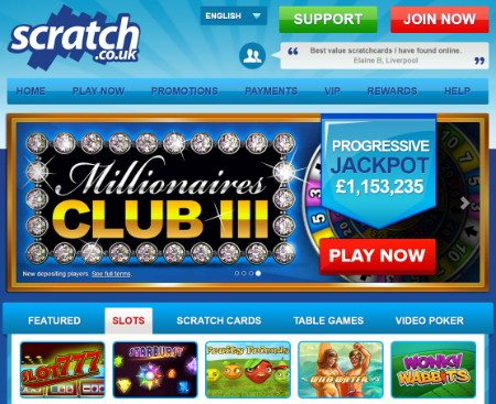plat online scratch offs win money