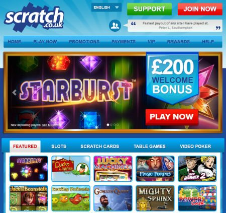 Play Scratch Cards Online