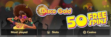 PocketWin Free Spins Disco Ball Slots