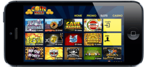 coinfalls casino lobby games real money wins