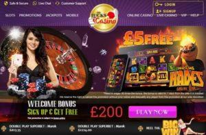 Lucks casino deposit welcome bonus