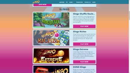 play free slingo games online