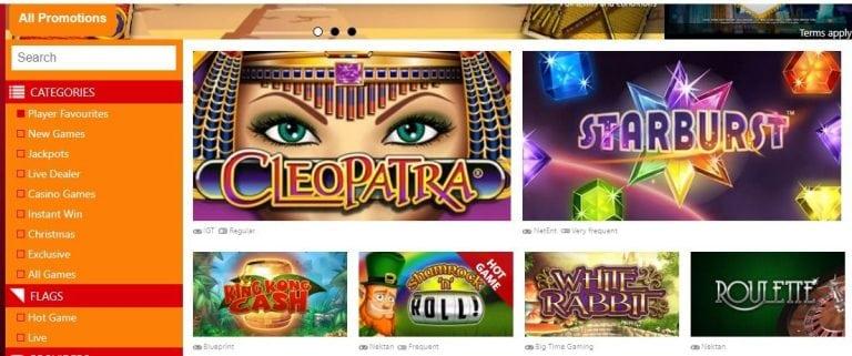 Online Slots Casino Bonus